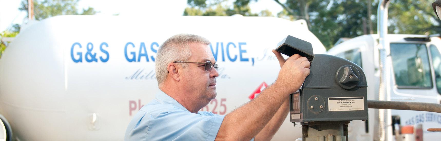 G Amp S Gas Service Inc Propane Milledgeville Lake